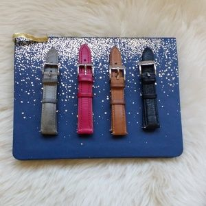 Fossil 18 am watch straps (all 4)